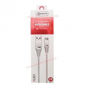 Cable Micro USB Xud1 2.4A...