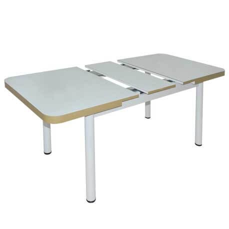 TABLE EXTENSIBLE TULIPE 130 /160 x 80