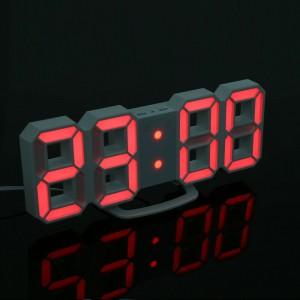 Horloge 3D Avec Lumiere