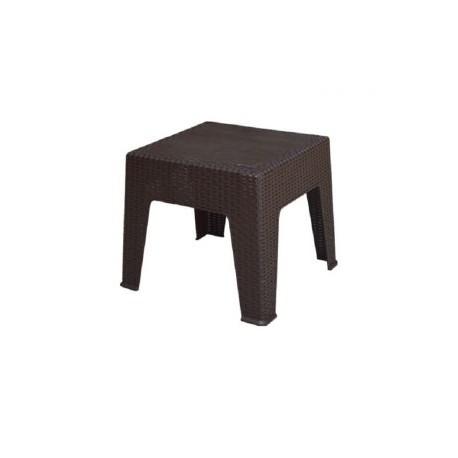 Table Basse Plastique  Rotin